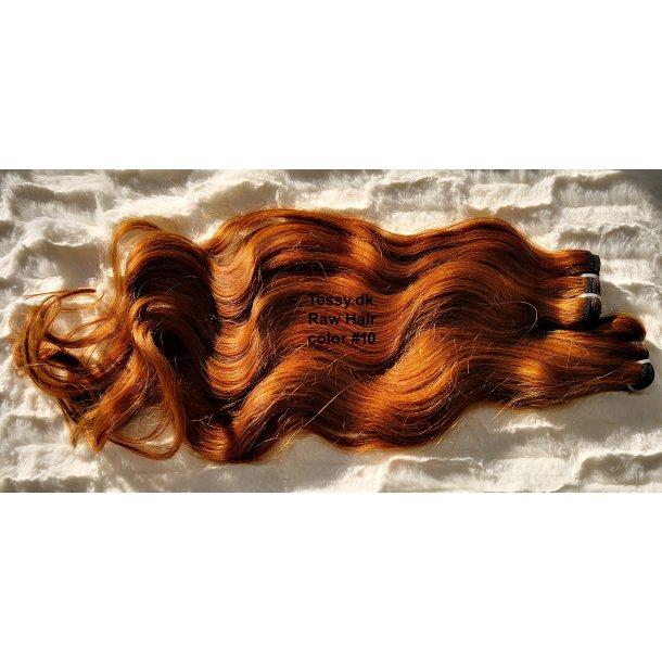 Single Drawn Raw Virgin Hair Extension 65cm ( 26 Inches ) Bodywave Hair Color #10