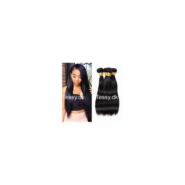Straight Peruvian Virgin Human Hair 70cm  ( 28 inches )