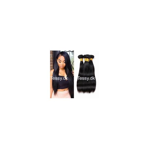 Straight Peruvian Virgin Human Hair 75cm ( 30 inches )
