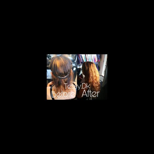 Priser for påsætning af hår extensions 1 pk.