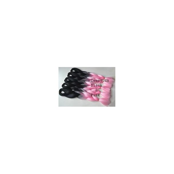 Ombre Kanekalon Braiding Hair Extensions 24