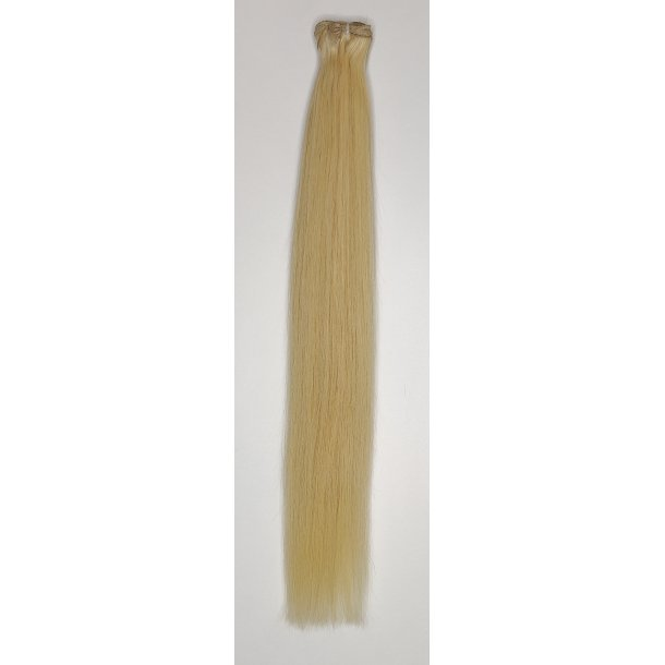 Double Drawn Luxurious Quality Brazilian Hair Extension 60cm ( 24 Inches ) Straight Hair Color #613