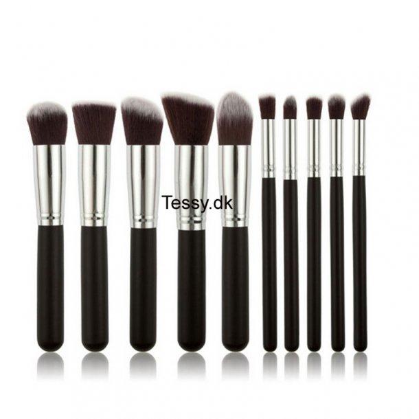 10Pcs/Set Professional Makeup Brushes