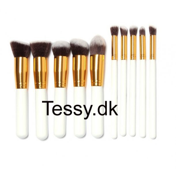 10Pcs/Set Professional Makeup Brushes