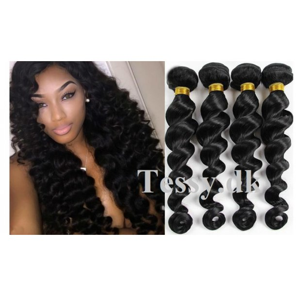 Brazilian Loose Wave Human Hair Extension Weft Hair 70cm ( 28 Inches )
