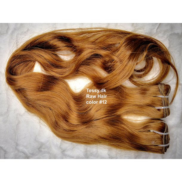 Single Drawn Raw Virgin Hair Extension 65cm ( 26 Inches ) Bodywave Hair Color #12