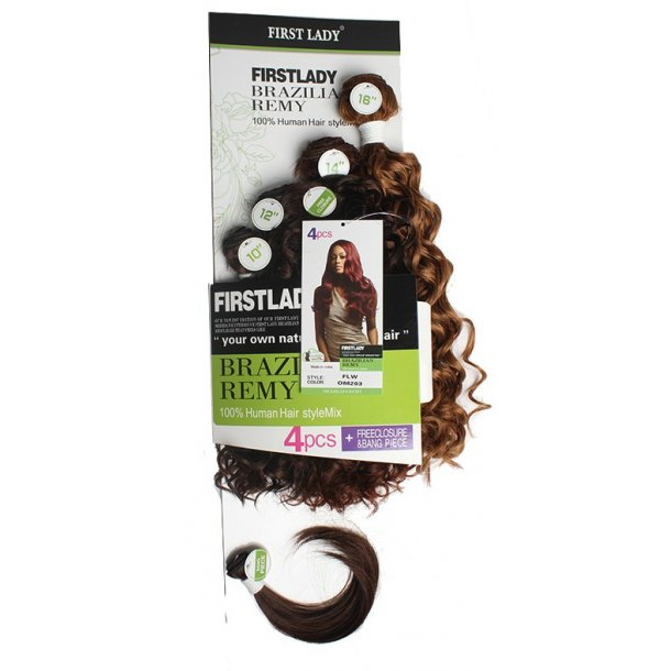 Synthetic hair weft 10